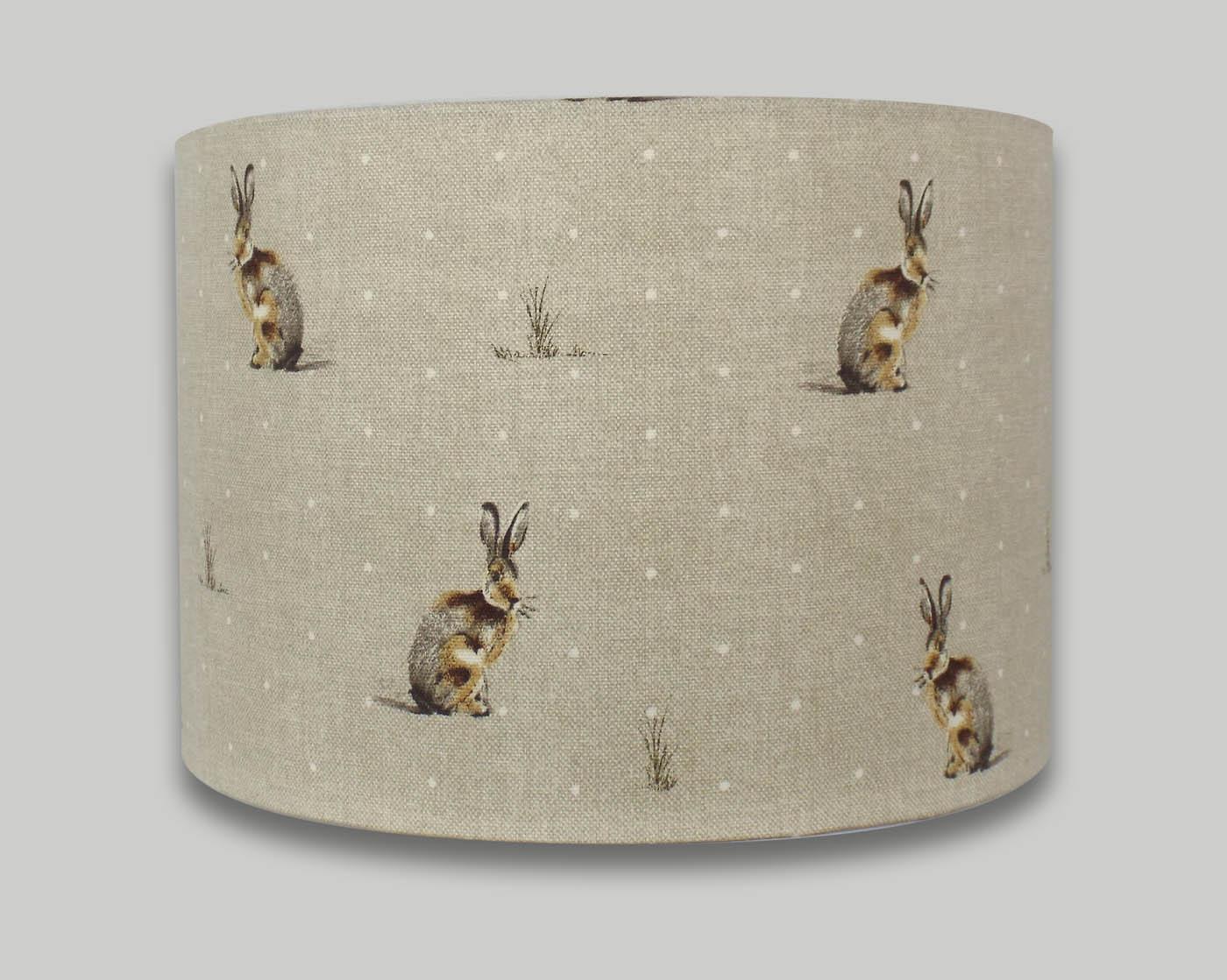 Hartley hare drum lampshade the lampshade barn hartley hare drum lampshade lightshade lamp shade aloadofball Choice Image