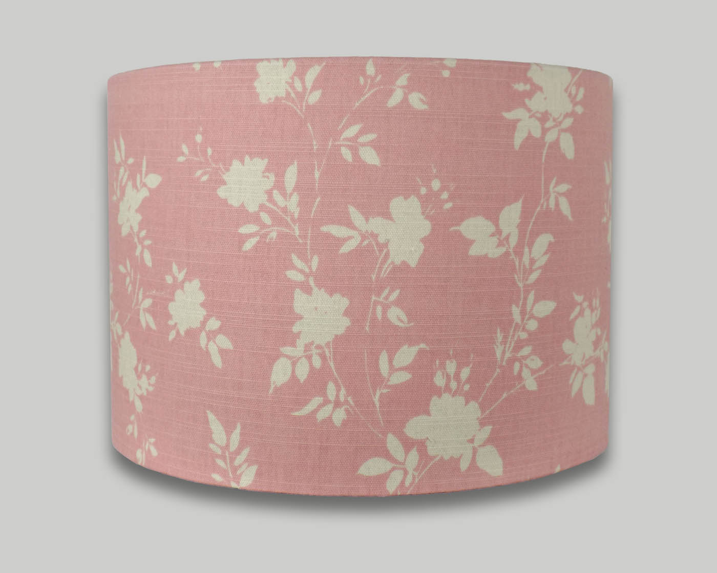 Wonderful Carnival Rose Pink Floral Drum Lampshade - THE LAMPSHADE BARN PY16