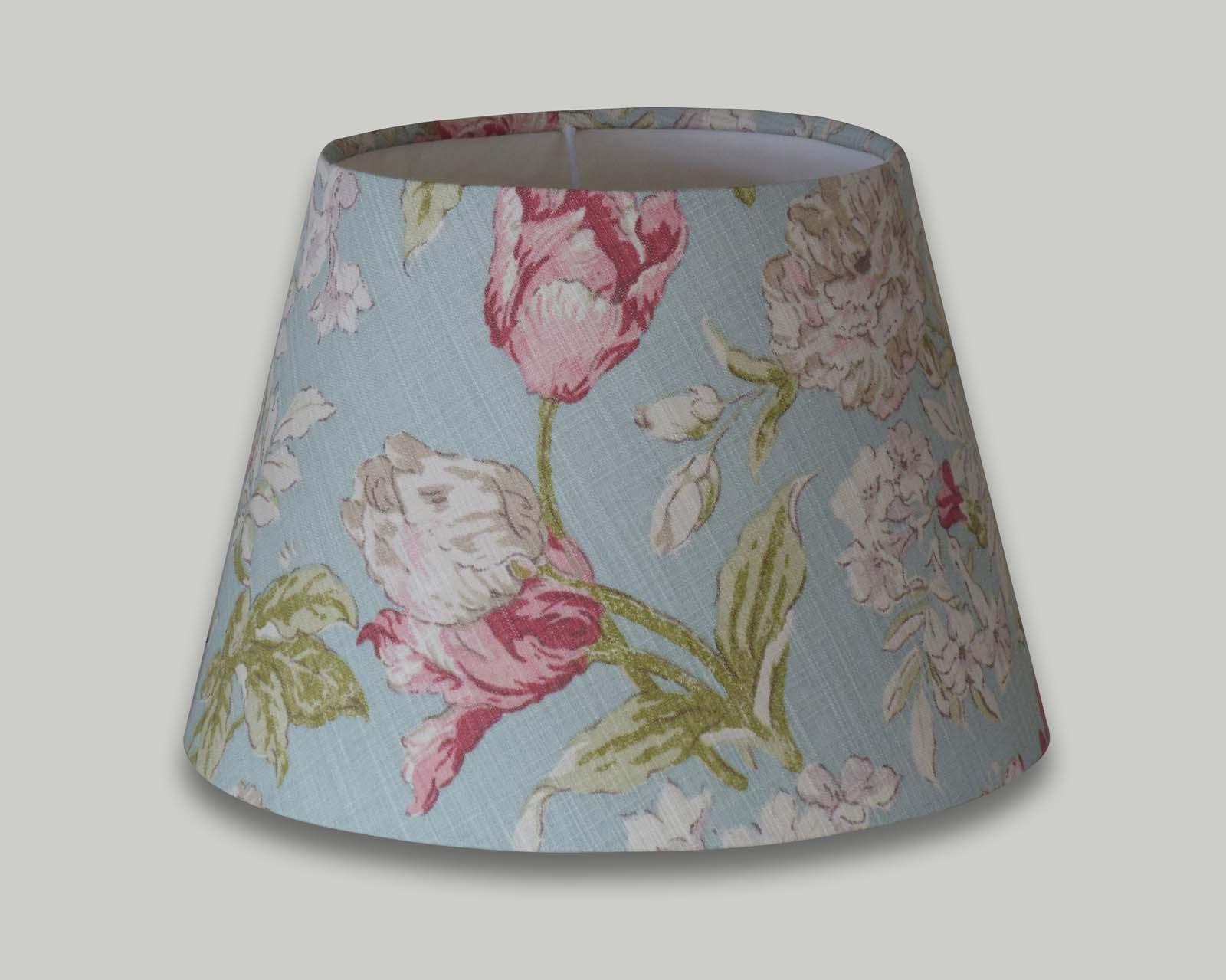 Campagna duckegg blue floral empire table lampshade the lampshade barn campagna duckegg blue floral empire table lampshade aloadofball Image collections