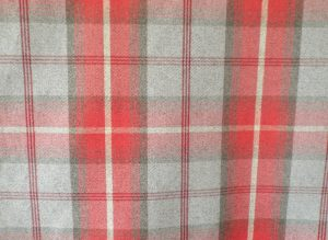 Balmoral Cherry Red Fabric