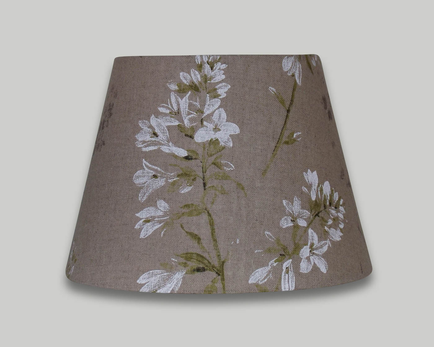 White Wild Flower Floral Empire Lampshade The Lampshade Barn