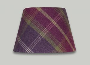 Balmoral Amethyst Pink Purple Tartan Check Empire Lampshade