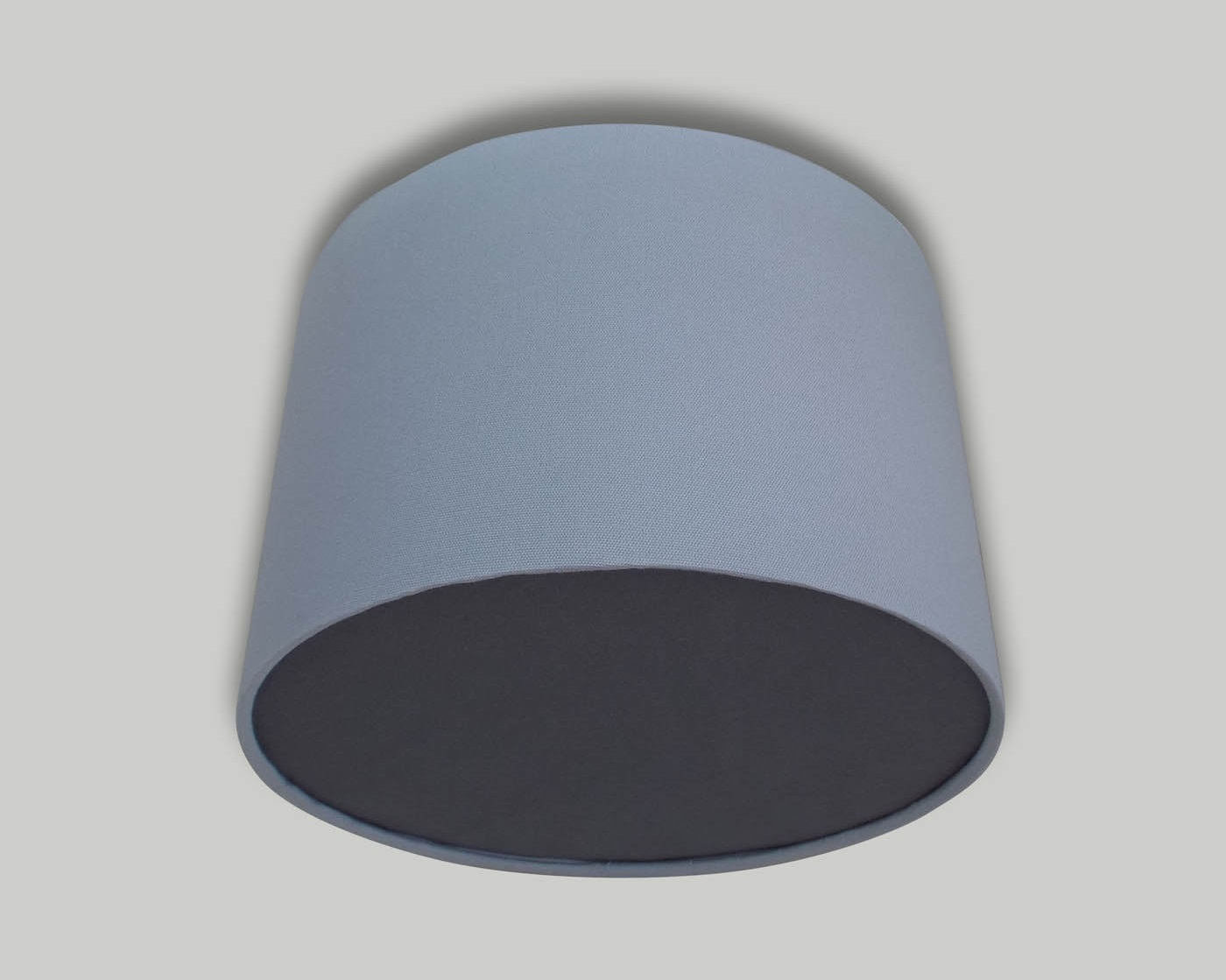 Light grey ceiling drum lampshade dark grey diffuser the lampshade light grey ceiling drum lampshade dark grey diffuser aloadofball Image collections
