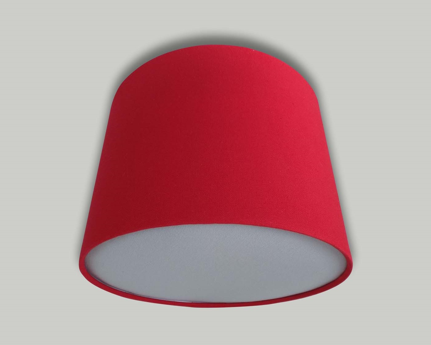 Red ceiling drum lampshade light grey diffuser the lampshade barn red ceiling drum lampshade light grey diffuser mozeypictures Image collections