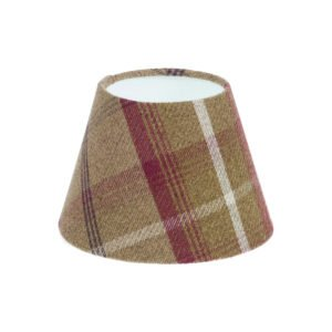 Balmoral Heather Tartan Empire Lampshade