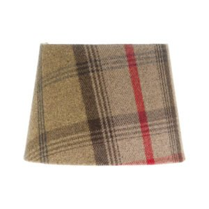 Balmoral Hunter Tartan French Drum Lampshade