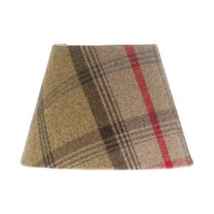 Balmoral Hunter Tartan Empire Lampshade