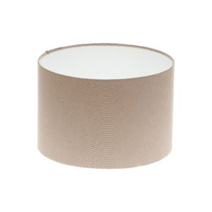 Dark Beige Drum Lampshade