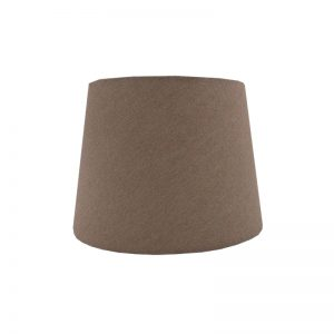 Dark Beige French Drum Lampshade