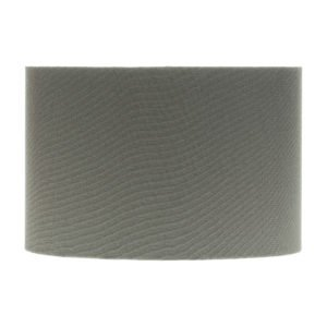 Dark Grey Drum Lampshade