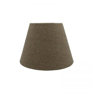 Beige Herringbone Empire Lampshade