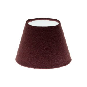 Heather Herringbone Tweed Empire Lampshade