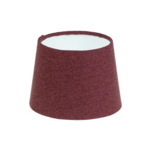 Heather Herringbone Tweed French Drum Lampshade