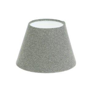 Light Grey Herringbone Tweed Empire Lampshade