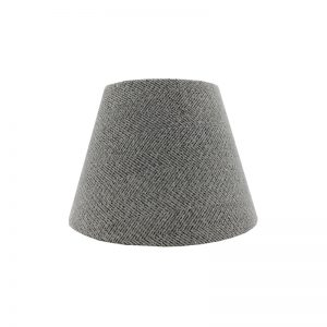 Light Grey Herringbone Empire Lampshade
