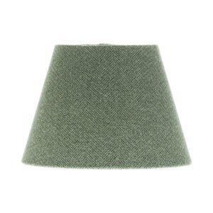 Light Grey Herringbone Tweed Empire Lampshade