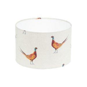 Mr Pheasant Drum Lampshade