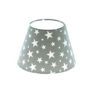 Grey Stars Empire Lampshade