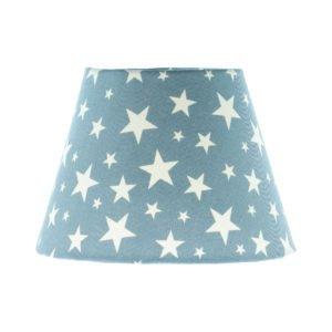 Light Blue Stars Empire Lampshade