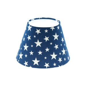 Navy Blue Stars Empire Lampshade
