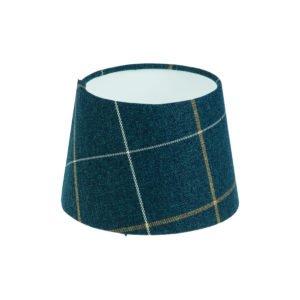 Winsford Navy Blue Tartan French Drum Lampshade