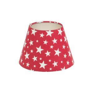 Red Stars Empire Lampshade Champagne Inner