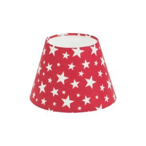 Red Stars Empire Lampshade