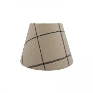 Winsford Cream Tartan Empire Lampshade