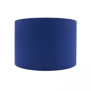 Bright Blue Drum Lampshade