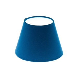 Bright Blue Empire Lampshade