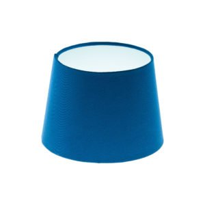 Bright Blue French Drum Lampshade