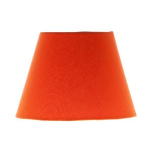 Bright Orange Empire Lampshade