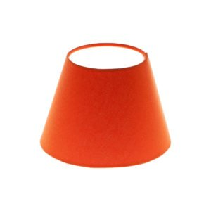 Bright Orange Empire Lampshade