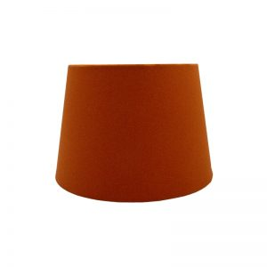 Bright Orange French Drum Lampshade