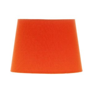 Bright Orange French Drum Lampshade