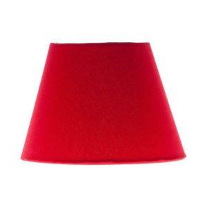 Bright Red Empire Lampshade