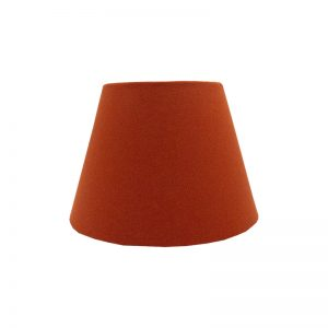 Burnt Orange Empire Lampshade