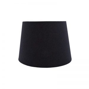 Dark Navy Blue French Drum Lampshade
