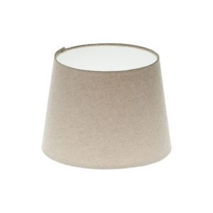 Light Beige French Drum Lampshade