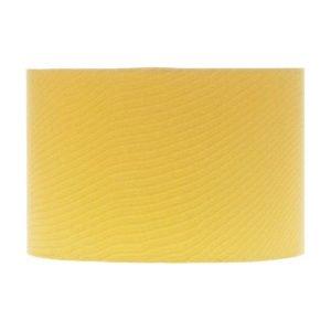 Mustard Yellow Drum Lampshade