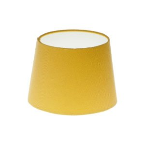 Mustard Yellow French Drum Lampshade