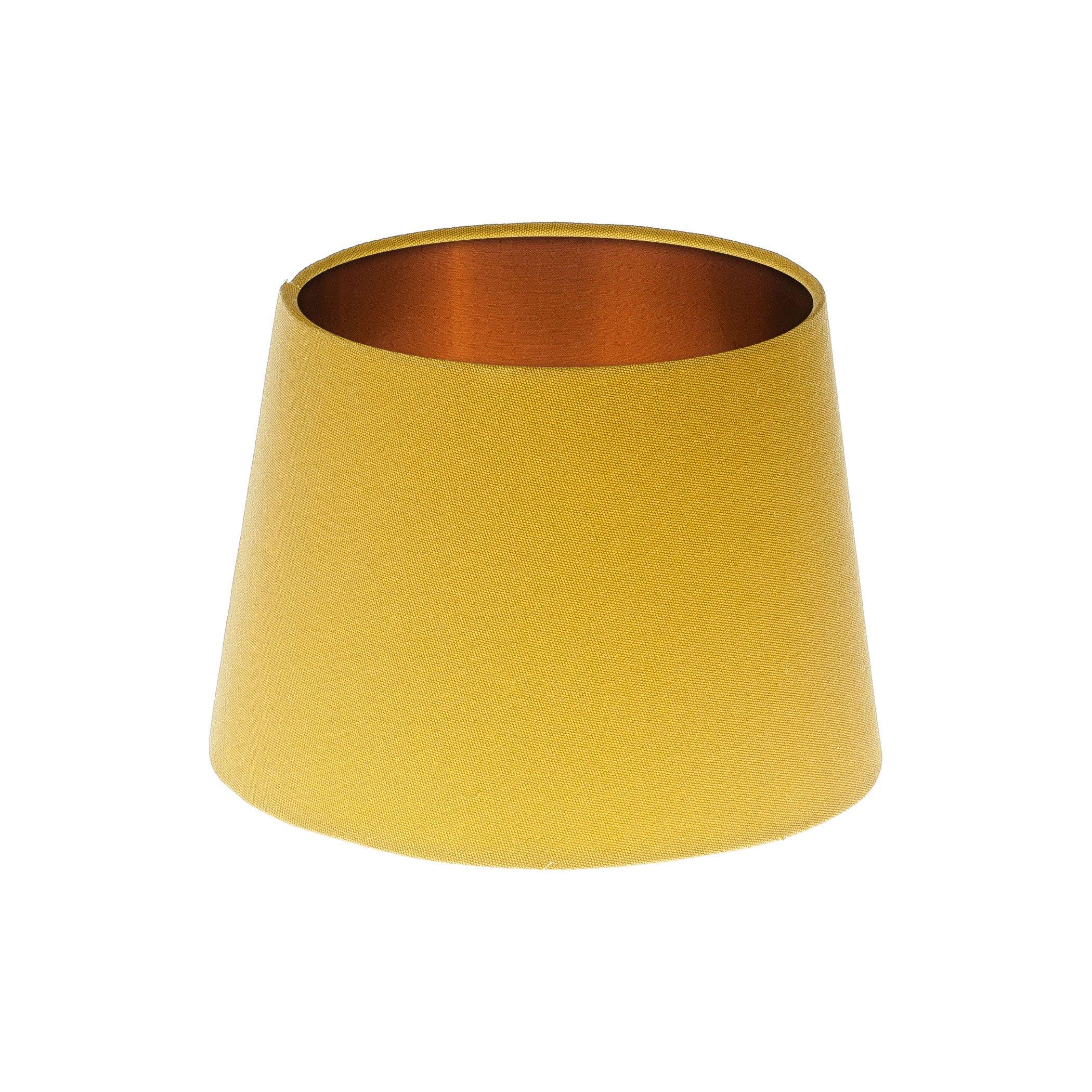 Light Beige Drum Lampshade Brushed Copper Inner 20cm 25cm 30cm 35cm 40cm 50cm 60cm 70cm Lamp Shade Lightshade Lamps