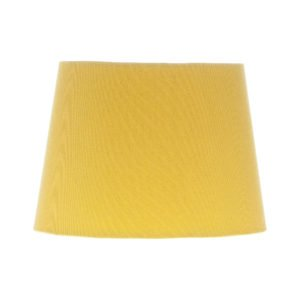 Mustard Yellow French Drum Lampshade