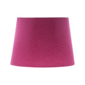 Bright Pink Satin French Drum Lampshade