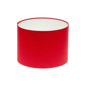 Bright Red Drum Lampshade