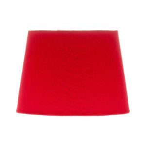 Bright Red French Drum Lampshade