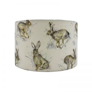 Voyage Hurtling Hare Drum Lampshade