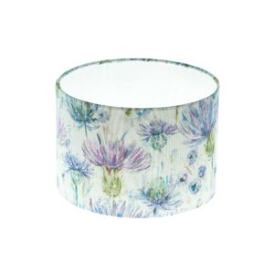 Thistle Floral Drum Lampshade