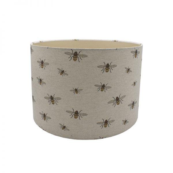 Bees Drum Lampshade