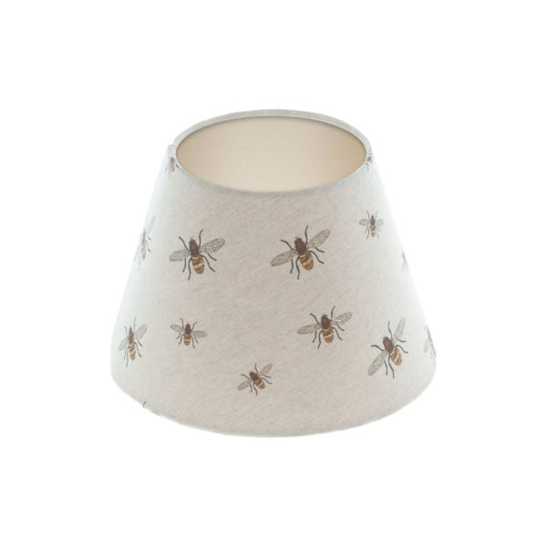 Bees Empire Lampshade Champagne Inner